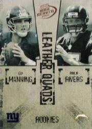 2004 Playoff Hogg Heaven Leather Quads #LQ22 Eli Manning/Philip Rivers/Ben Roethlisberger/J.P. Losman