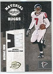 2004 Playoff Hogg Heaven Material Hoggs Gold Prime #MH36 Michael Vick