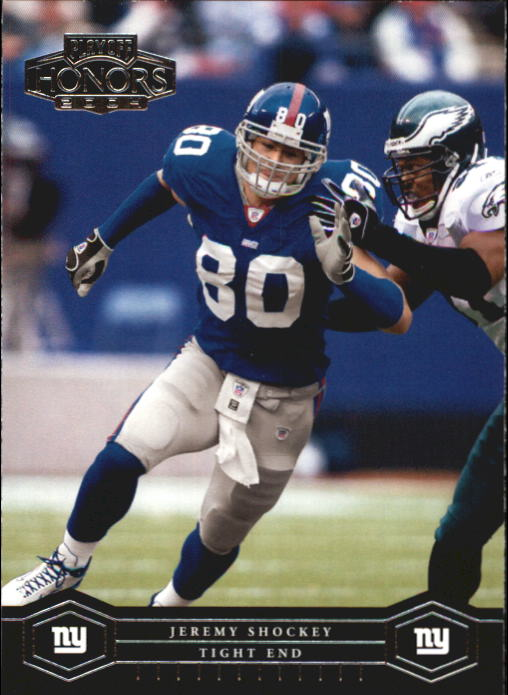 2004 Playoff Honors #61 Jeremy Shockey