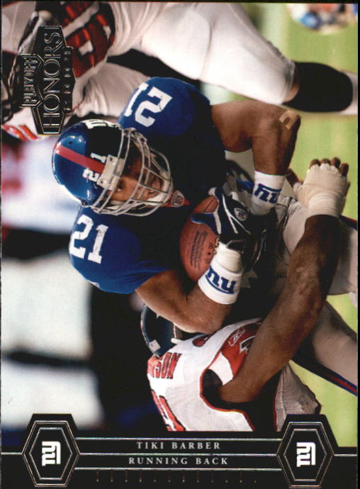 2004 Playoff Honors #63 Tiki Barber