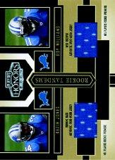 2004 Playoff Honors Rookie Tandem Jerseys #RT9 Kevin Jones/Roy Williams WR