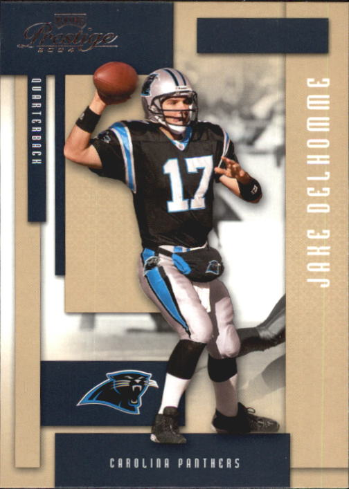 2004 Playoff Prestige #20 Jake Delhomme