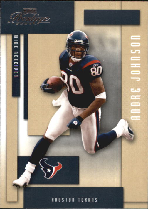 2004 Playoff Prestige #55 Andre Johnson front image
