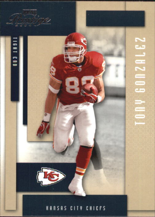 2004 Playoff Prestige #70 Tony Gonzalez