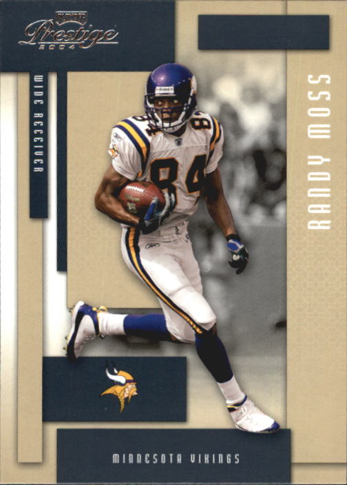 2004 Playoff Prestige #82 Randy Moss