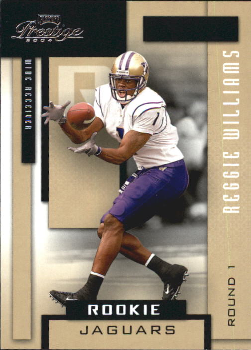 2004 Playoff Prestige #158 Reggie Williams RC