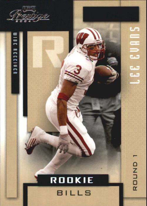 2004 Playoff Prestige #161 Lee Evans RC