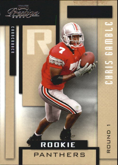 2004 Playoff Prestige #173 Chris Gamble RC