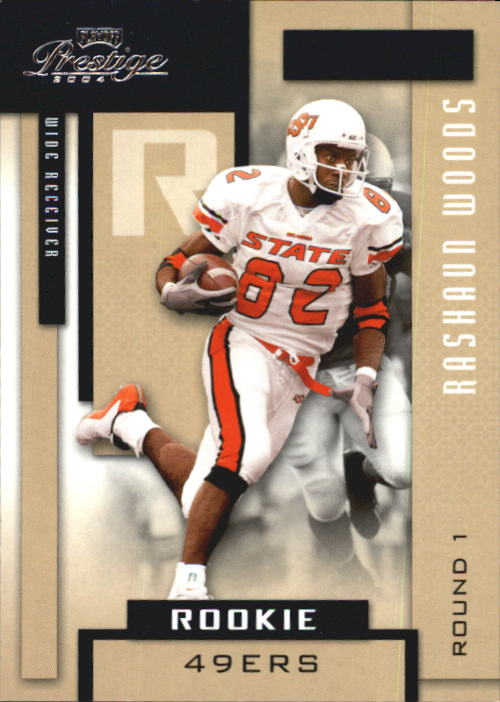2004 Playoff Prestige #176 Rashaun Woods RC