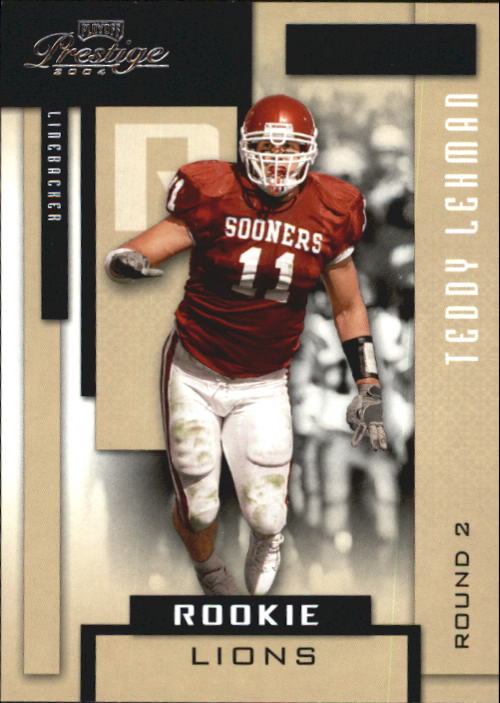 2004 Playoff Prestige #179 Teddy Lehman RC