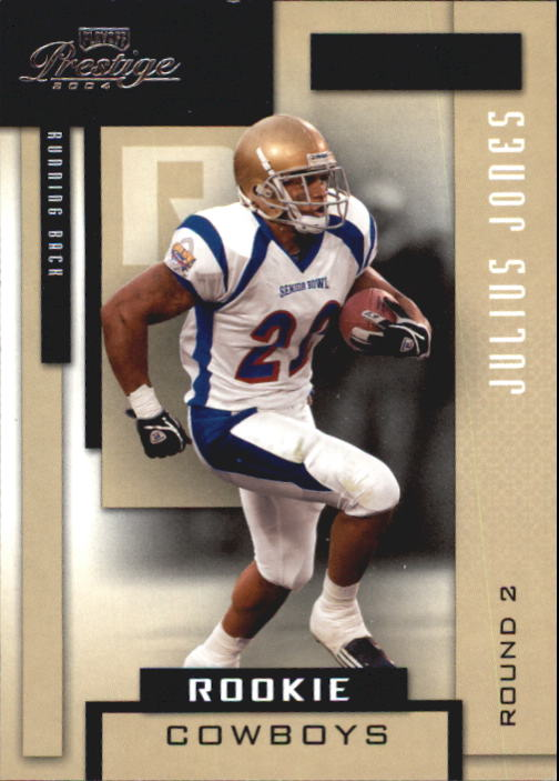 2004 Playoff Prestige #184 Julius Jones RC
