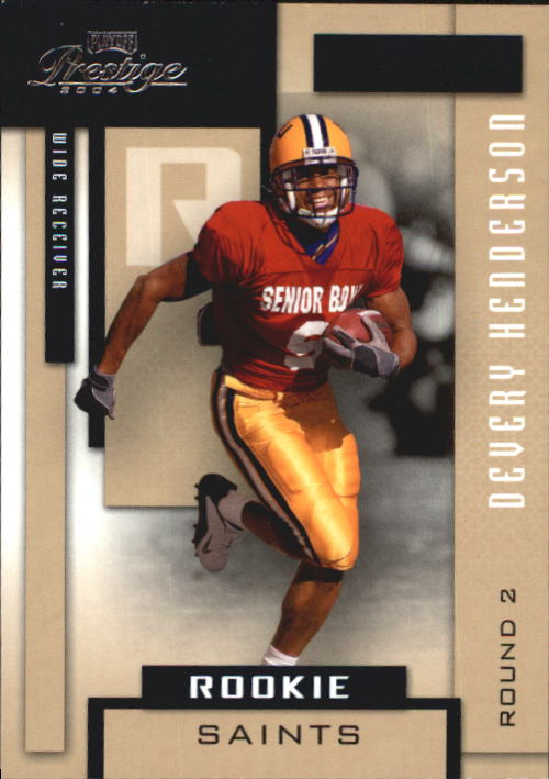 2004 Playoff Prestige #186 Devery Henderson RC