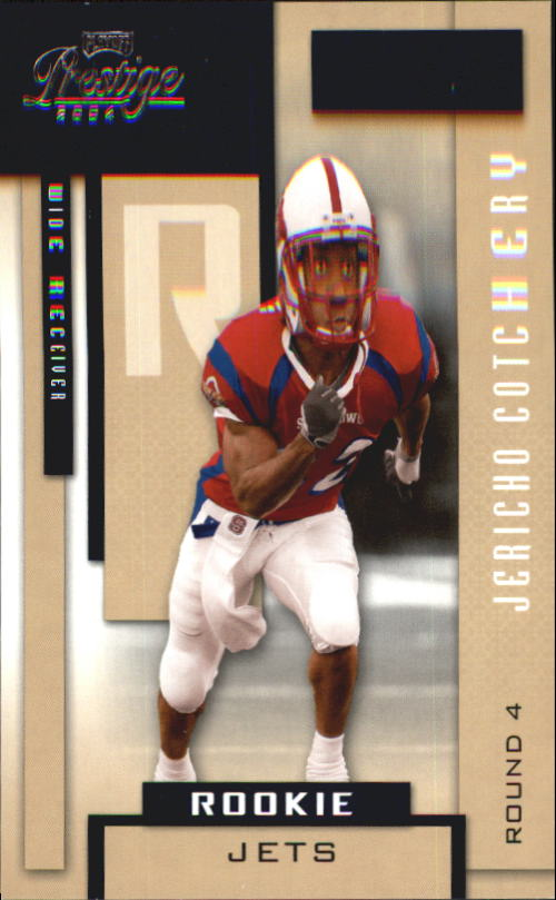 2004 Playoff Prestige #203 Jerricho Cotchery RC