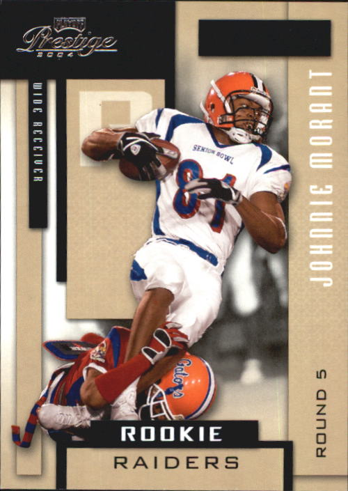 2004 Playoff Prestige #207 Johnnie Morant RC