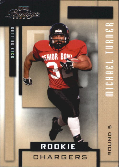 2004 Playoff Prestige #209 Michael Turner RC