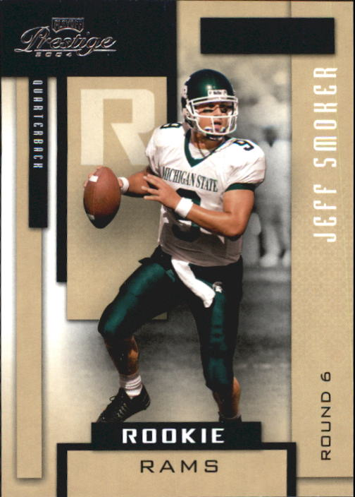 2004 Playoff Prestige #214 Jeff Smoker RC