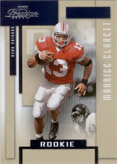 2004 Playoff Prestige #219 Maurice Clarett SP RC