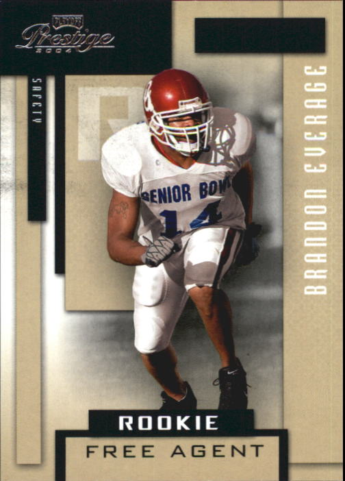 2004 Playoff Prestige #222 Brandon Everage RC