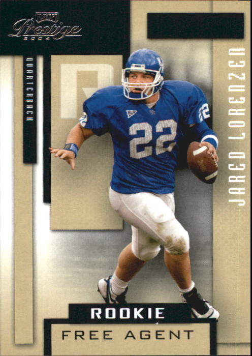 2004 Playoff Prestige #224 Jared Lorenzen RC