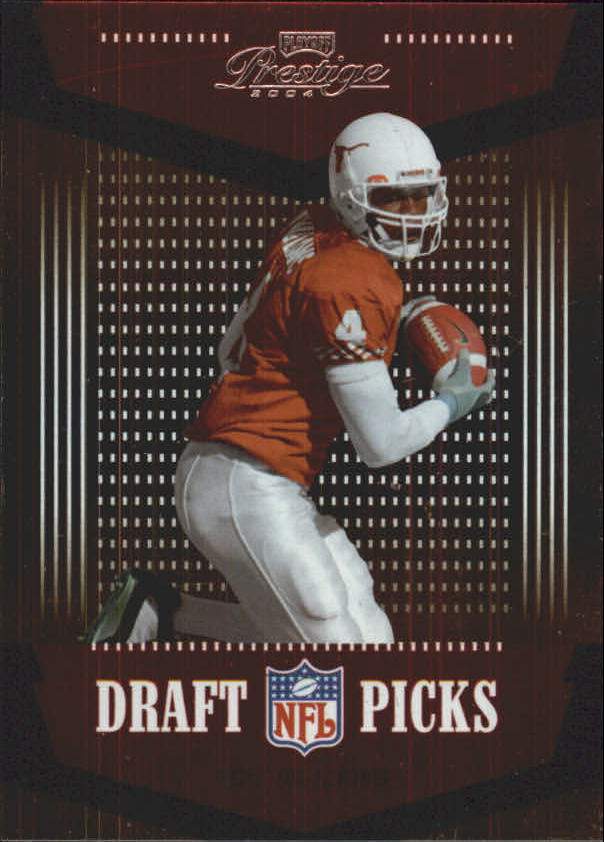 2004 Playoff Prestige Draft Picks #DP10 Roy Williams WR front image
