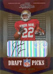 2004 Playoff Prestige Draft Picks Autographs #DP18 Julius Jones