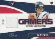 2004 Playoff Prestige Gamers Jerseys #G9 David Carr