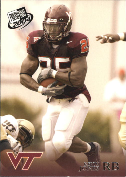 2004 Press Pass #13 Kevin Jones