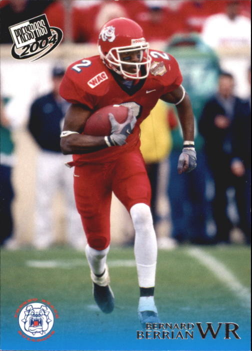 2004 Press Pass #21 Bernard Berrian