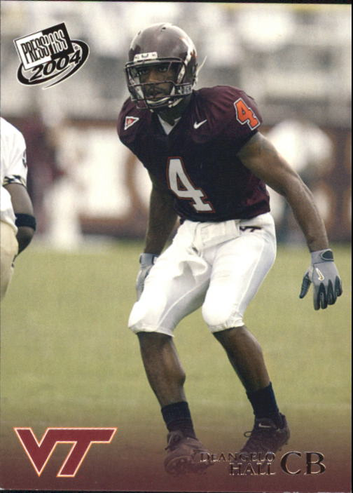 2004 Press Pass #41 DeAngelo Hall