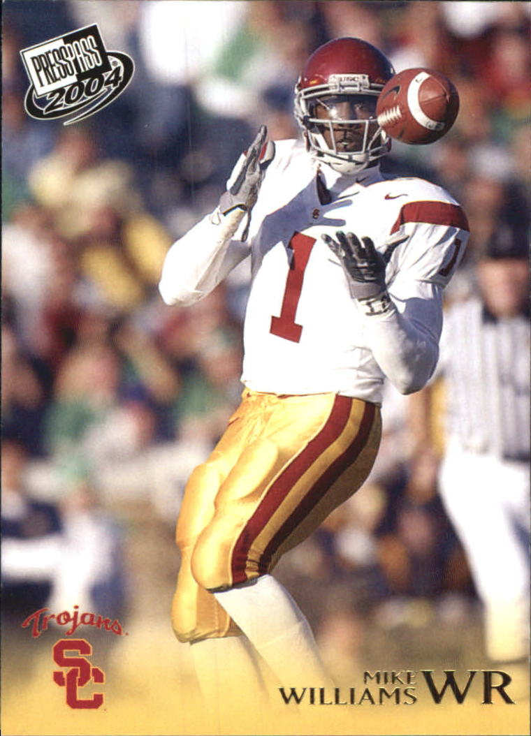 2004 Press Pass Gold #G29 Mike Williams front image