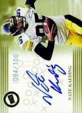 2004 Press Pass Autographs Gold #22 Nate Kaeding