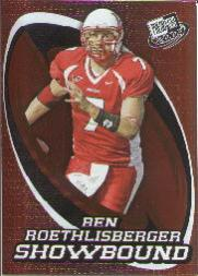 2004 Press Pass Showbound #SB6 Ben Roethlisberger