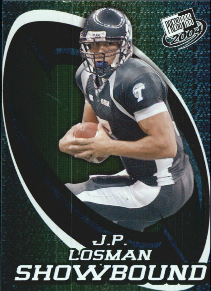 2004 Press Pass Showbound #SB9 J.P. Losman
