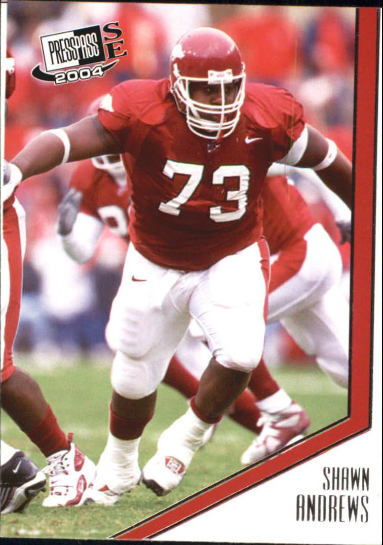 2004 Press Pass SE #1 Shawn Andrews