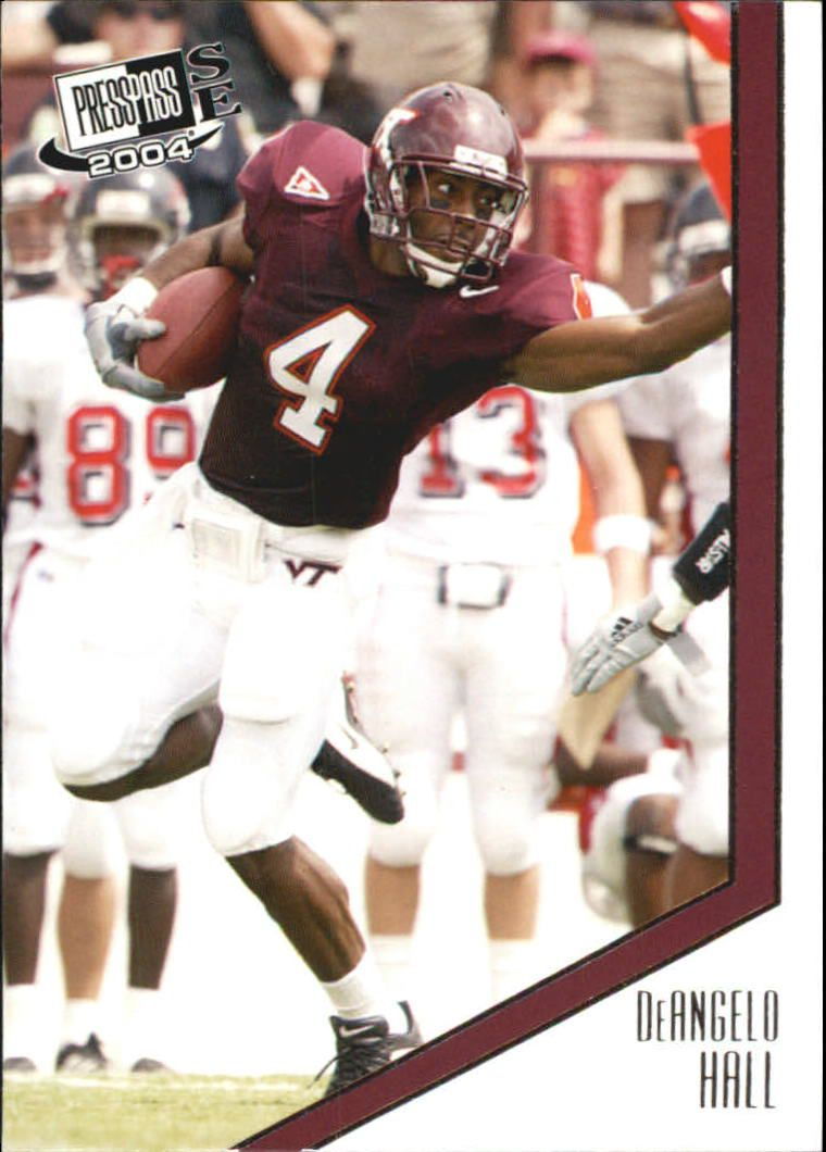 2004 Press Pass SE #9 DeAngelo Hall