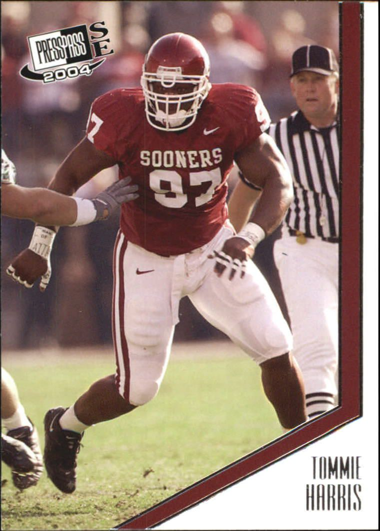 2004 Press Pass SE #10 Tommie Harris