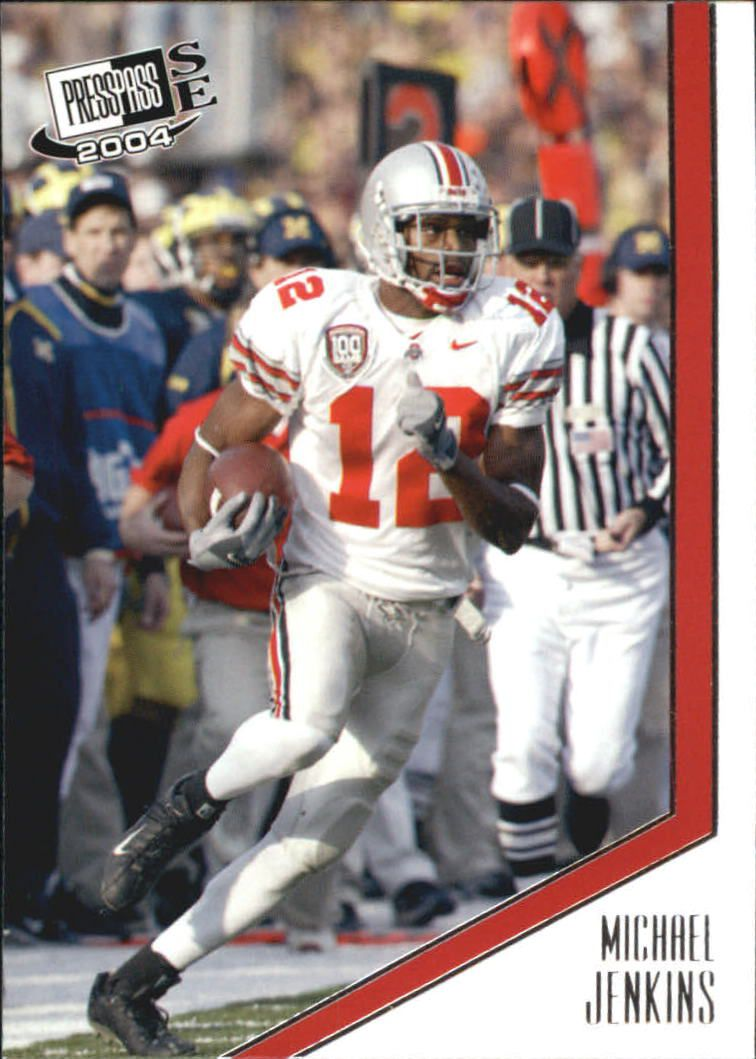 2004 Press Pass SE #14 Michael Jenkins