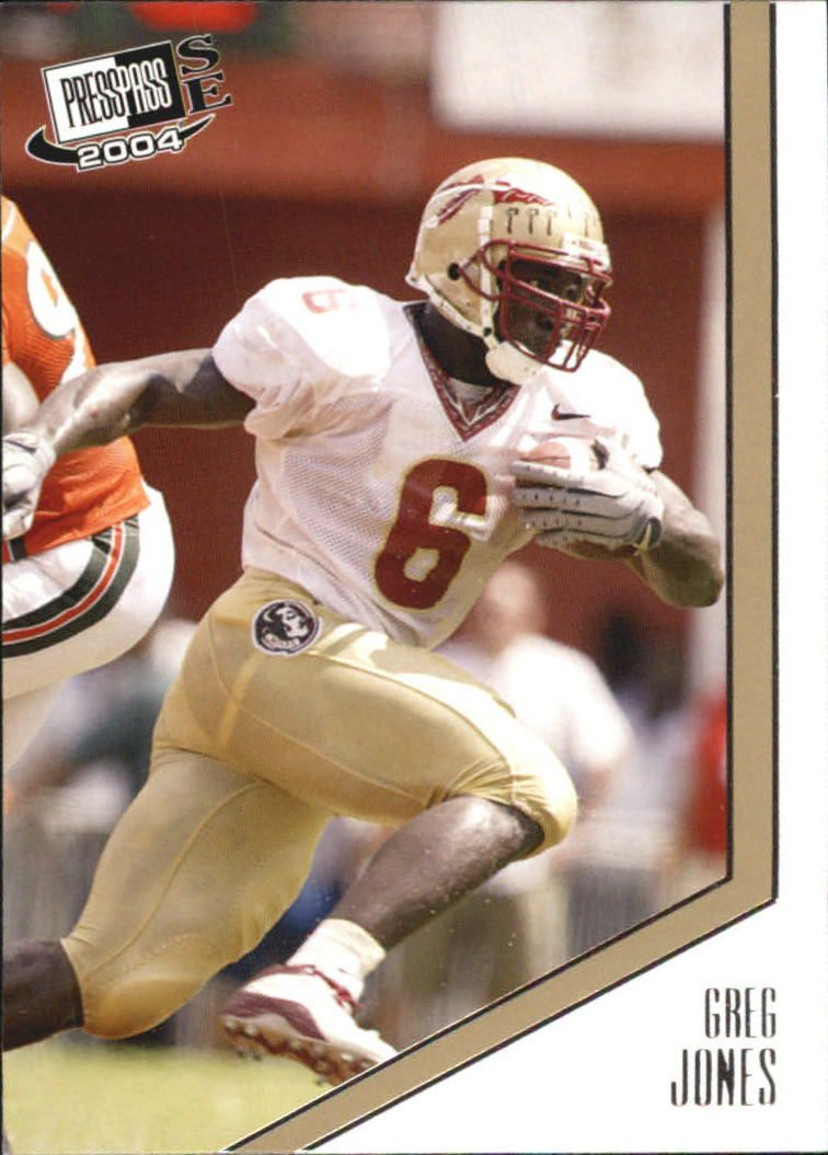 2004 Press Pass SE #15 Greg Jones