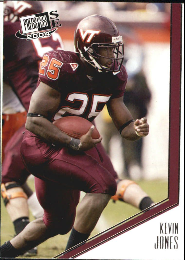 2004 Press Pass SE #16 Kevin Jones