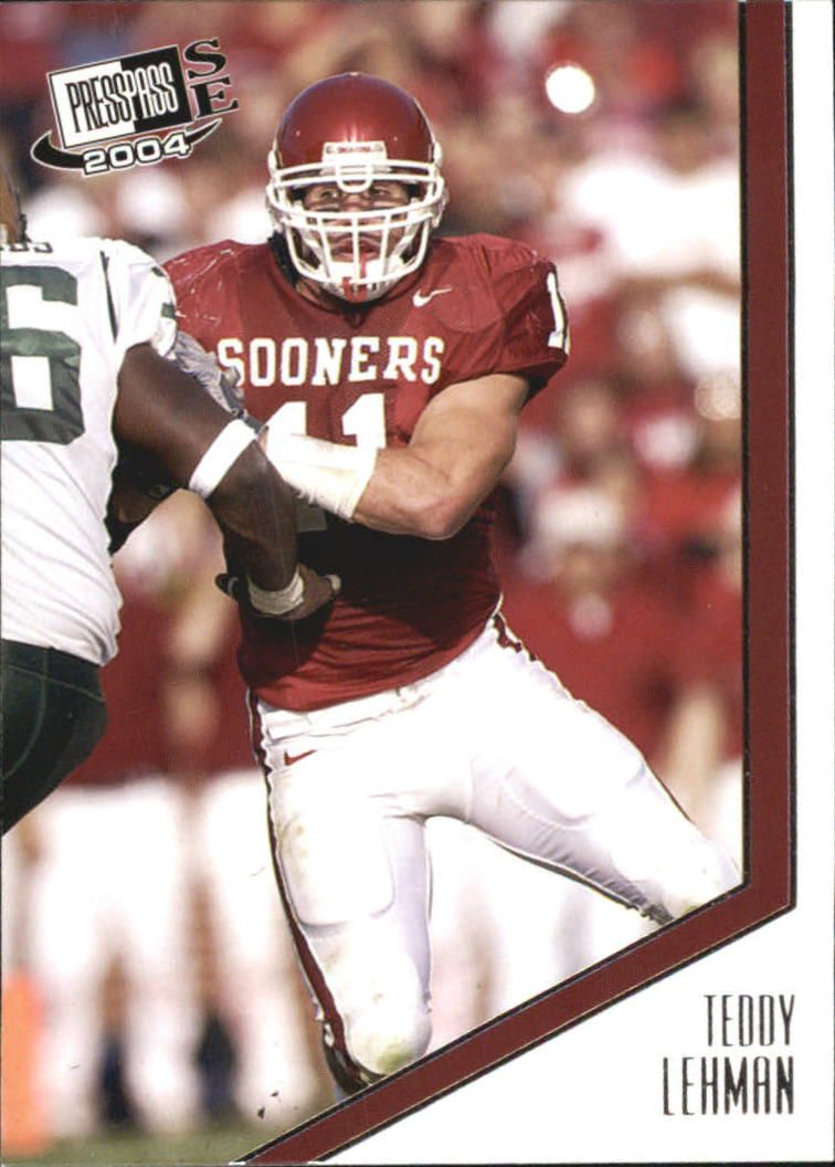 2004 Press Pass SE #17 Teddy Lehman