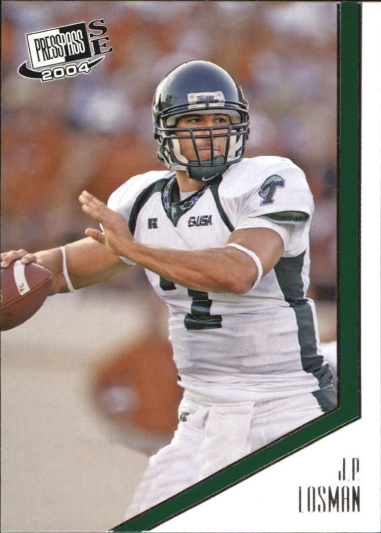 2004 Press Pass SE #18 J.P. Losman