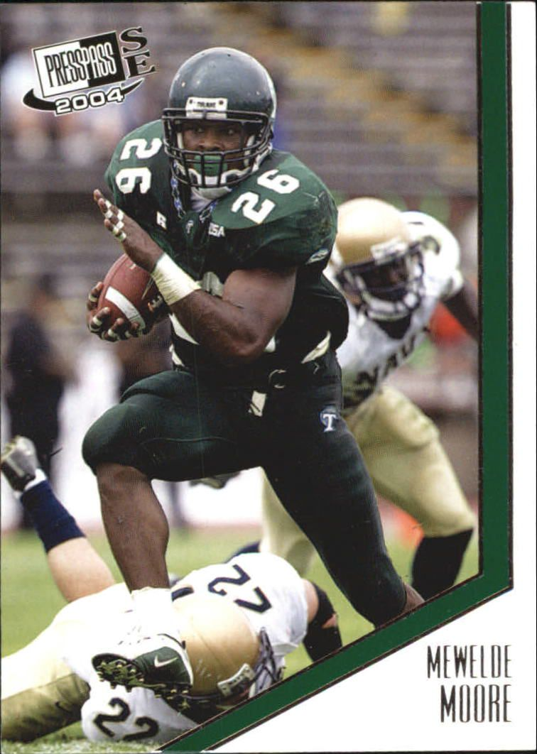 2004 Press Pass SE #20 Mewelde Moore