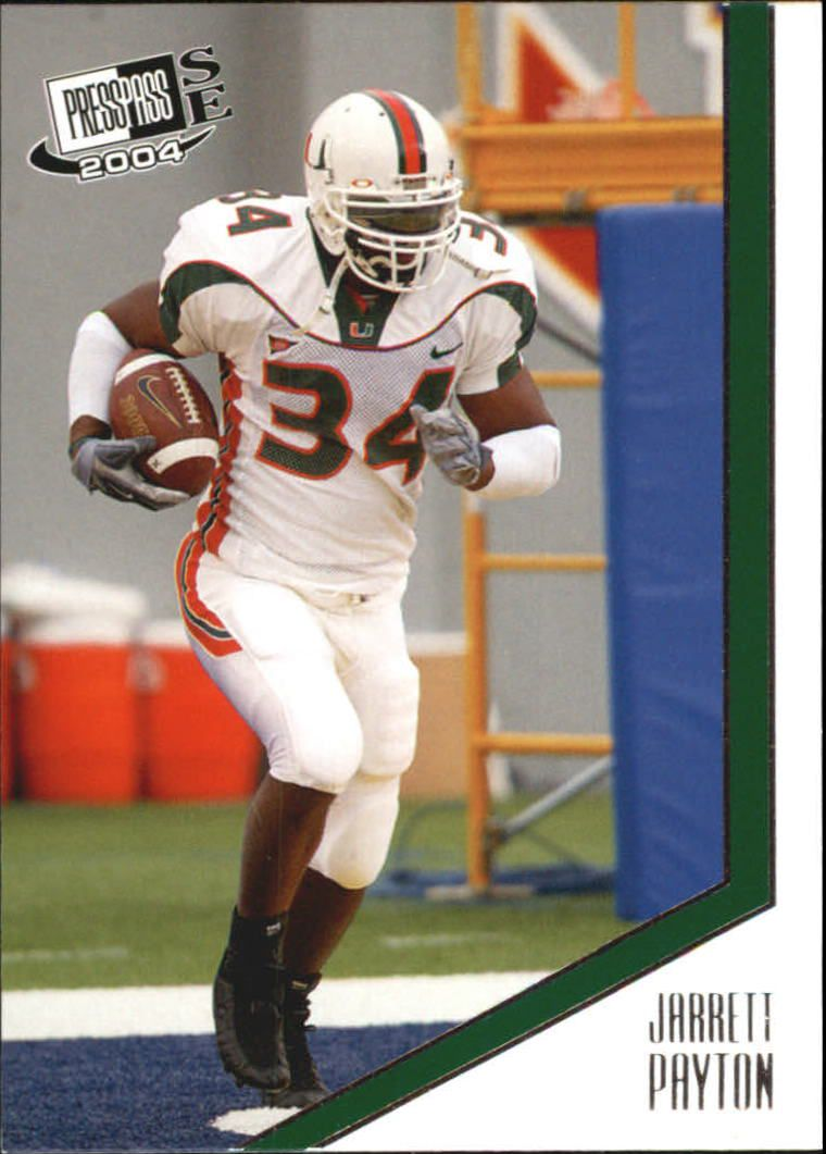 2004 Press Pass SE #22 Jarrett Payton