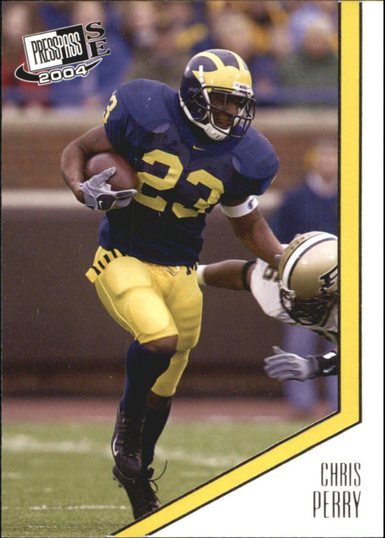 2004 Press Pass SE #23 Chris Perry