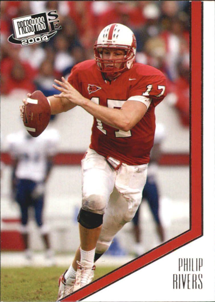 2004 Press Pass SE #25 Philip Rivers