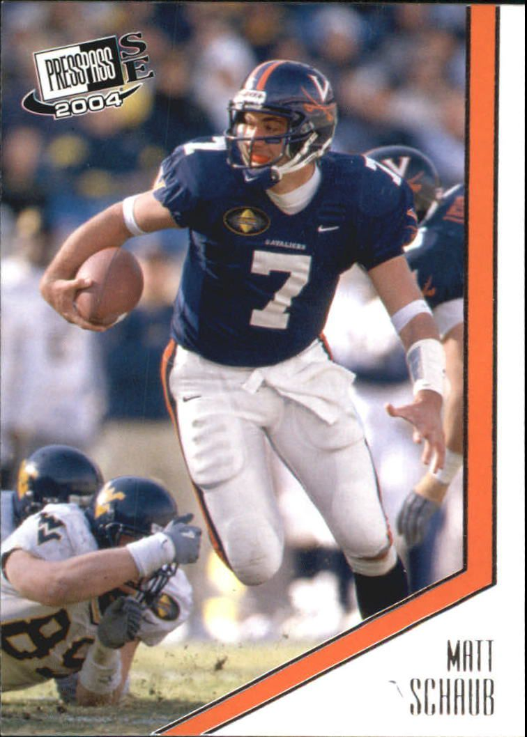 2004 Press Pass SE #27 Matt Schaub