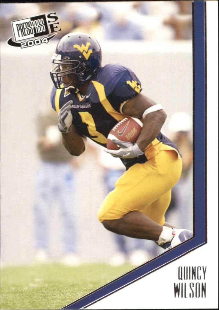 2004 Press Pass SE #37 Quincy Wilson