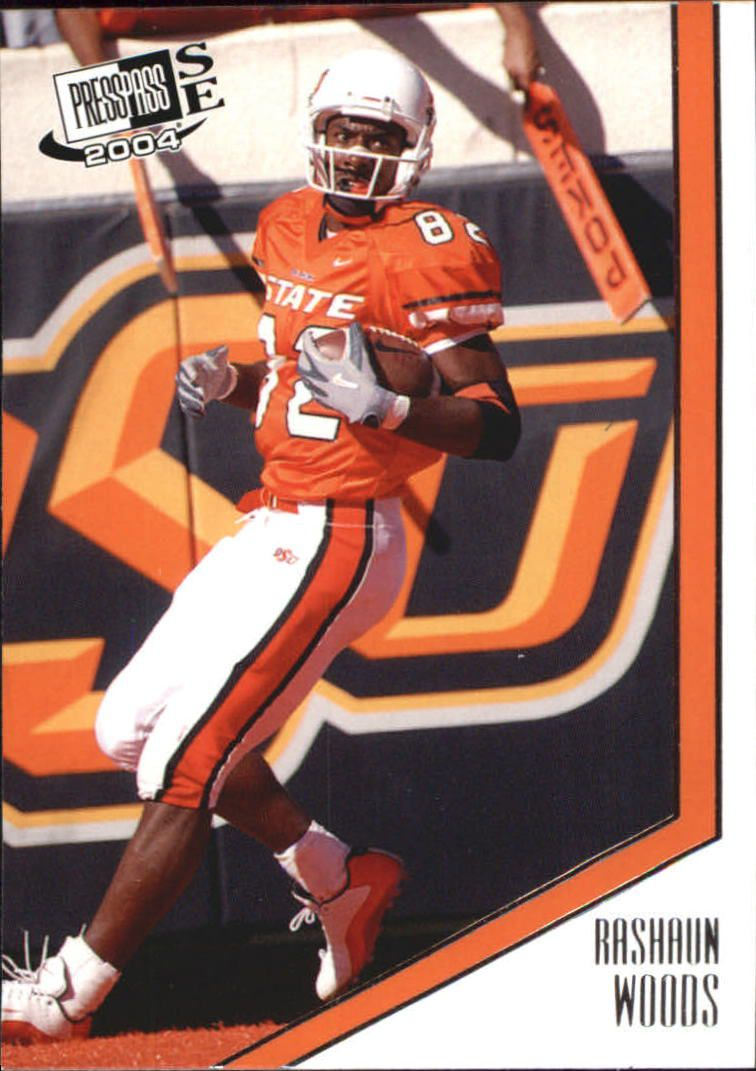 2004 Press Pass SE #38 Rashaun Woods