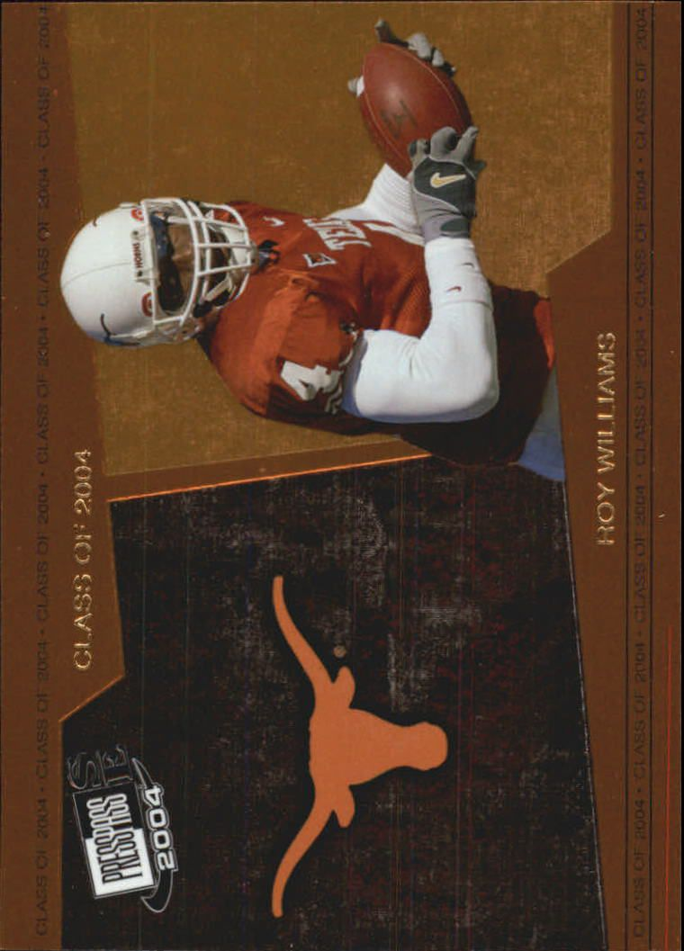 2004 Press Pass SE Class of 2004 #CL9 Roy Williams WR