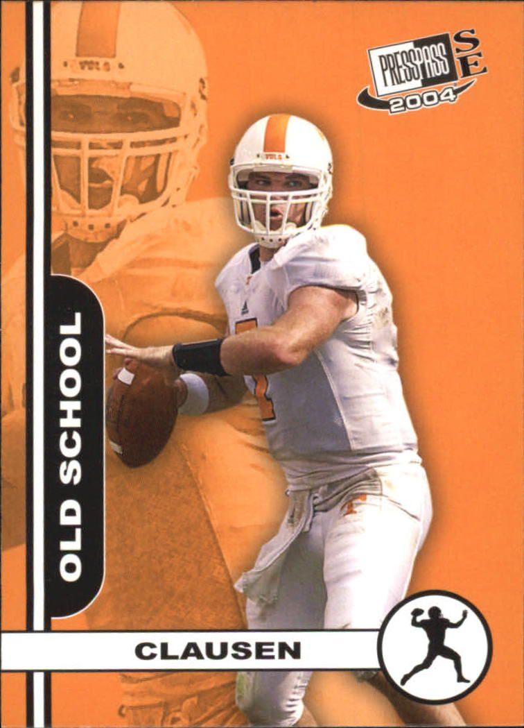 2004 Press Pass SE Old School #OS1 Casey Clausen
